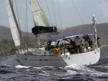Hanse 531 - Under sails