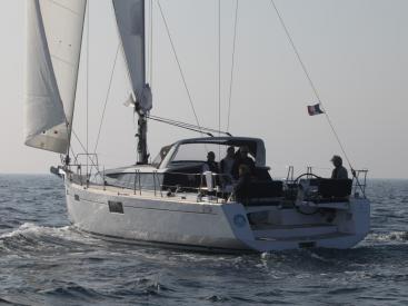 Sense 43 - Under sails