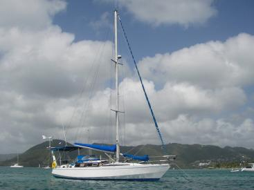 AYC Yachtbroker - Gael 43 - At anchor