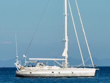 Imagine 52 - At anchorage