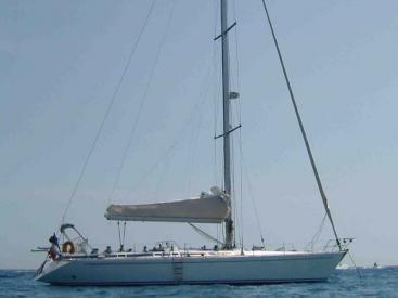 Grand Soleil 52 - Anchored