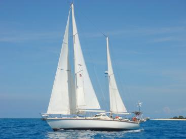 AYC - Super Maramu 2000 / Under sails