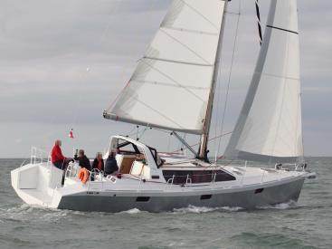 Iroise 46 - Under sails