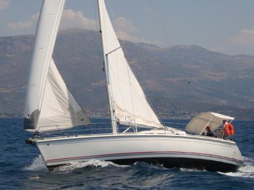 Etap 37 S - Under sails