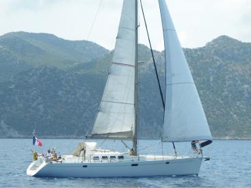Universal Yachting 49.9 - Under sails
