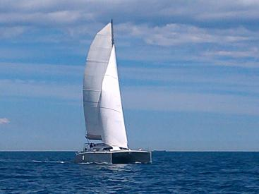 Flashcat 52s - AYC Yachtbroker - Under sails