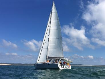 OVNI 52 Evolution - Under sails