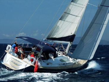 Sun Odyssey 54 DS - Under sails