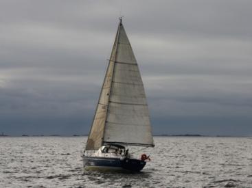 Oceanis 42 CC - Under sails