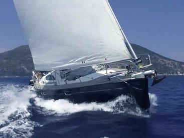 Sun Odyssey 54 DS - under sails