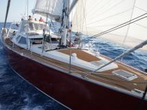 Garcia Salt 57 - Under sails
