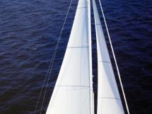 Nordia 65 - Under main and staysail