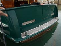 Searocco 1500 Trawler - Aft teak transom