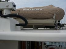 Searocco 1500 Trawler - Williamson 285 jet dinghy