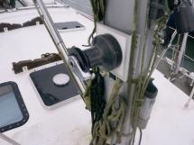 OVNI 455 - Starboard mast winch