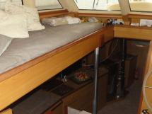 ALUMINIUM CUTTER 53' - Companionway from the wheelhouse to the saloon