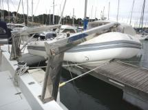 Tender on stainless steel davits