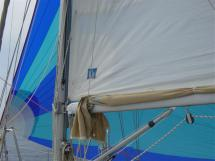 Asymetric spinnaker