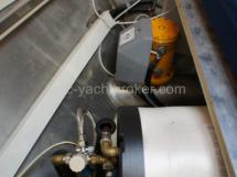 Bow thruster and hot water tank