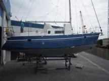 On dry land after new paint