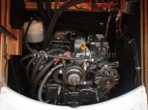 Yanmar 3JH4E engine.