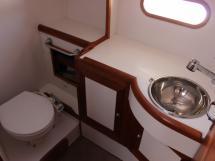 Port aft bathroom