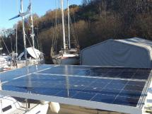 Meta JPB 47 - Solar panels