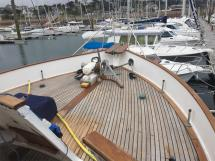 Grand Banks 46 Alaskan - Foredeck
