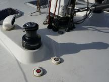 AYC Yachtbroker - JFA 45 Deck Saloon - Electric winch at the mast