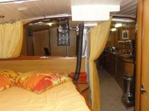 ALUMINIUM CUTTER 53' - From the forward double bed cabin