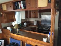 Grand Banks 46 Alaskan - Galley