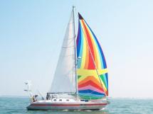 Carambola 38 - Under sails
