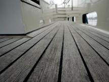Searocco 1500 Trawler - Teak deck detail