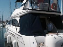 MERIDIAN 411 Sedan - Aft platform and gangway