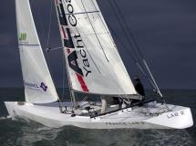 France Lab - under sails
