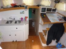 Chart table / galley