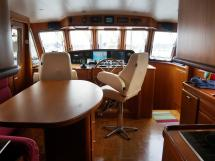 Searocco 1500 Trawler - Saloon / galley / conning station
