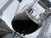 Carambola 38 - Under the crane