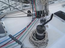 AYC - Levrier des mers 16m / Mast foot