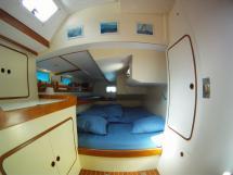 AYC - Levrier des mers 16m / Aft starboard cabin