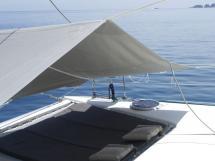 AYC - Lavezzi 40 / Trampoline sun cover