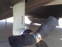 AYC - Nautitech 44 / Kiwiprops propeller