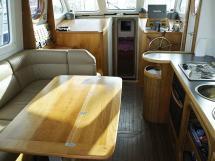 AYC Yachtbroker - Trawler Meta King Atlantique - Saloon