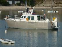 AYC Yachtbroker - Trawler Meta King Atlantique - At anchor