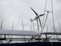 AYC Yachtbroker - Solar panels and wind generator