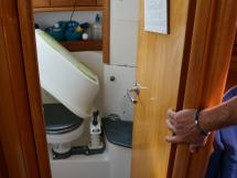 AYC Yachtbroker - Aft port bathroom (used only as a separate shower room)