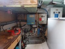 Vaton 54 - Technical locker / Workshop