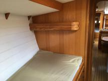 Cigale 16 - Single bed in the forward cabin