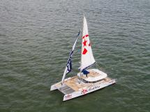 AYC - Day 1 85' under sails