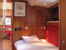 Nordia 65 - Forward port cabin